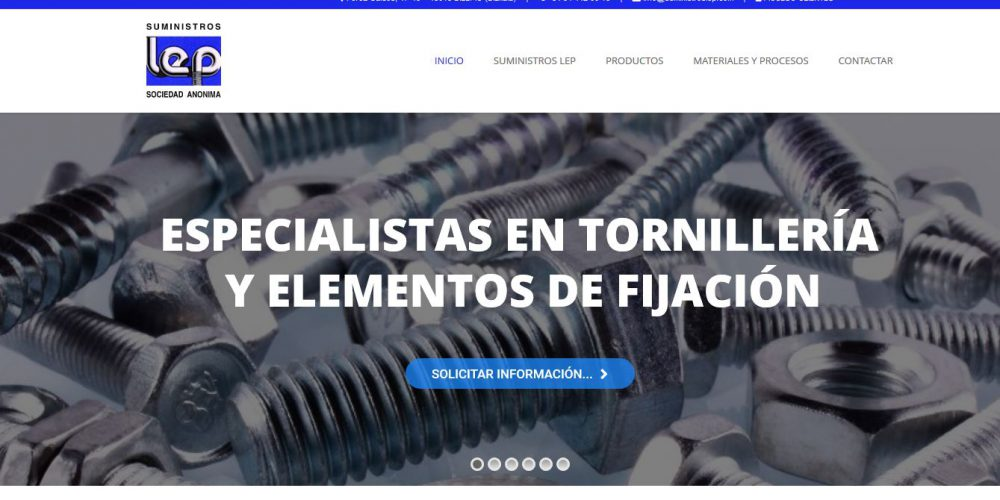 Estrenamos Página Web en Suministros LEP